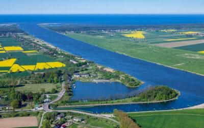 Umowa na budowę wrót sztormowych na rzece Tudze podpisana!